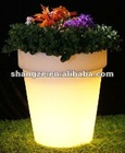 color changing waterproof led flower pots