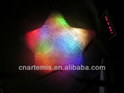 colorful shining led light pillow decorative pillow