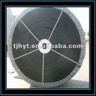 Excellent in heat and cold resistance Rubber conveyor belt