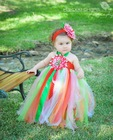 Christmas dress set cute tutu dress for baby girls