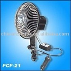 6 inch mini car fan with Clamp