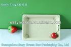 Biodegradable Rectangular Sushi Tray EG-0.8