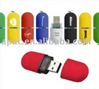 Newest design different shape plastic usb gift flash drive