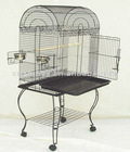 Domed parrot bird cage