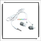 HOT! 3.5mm In-ear MP3 Headset For iPod Nano White