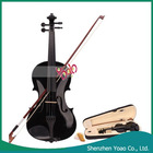 "New And High Quality !! 23"" Acoustic Violin Black"