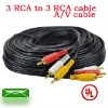 3rca to 3rca cable video & audio cable