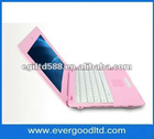 10 inch mini Laptop VIA8850 Support Android 4.0 512MB/4GB Notebook