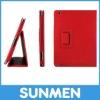 NEW Lichee Pattern Leather Smart Cover Case for New iPad Minismart leather case cover for apple ipad mini