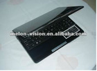 10.2 inch Mini laptop S30 ATOM N2600 1.66GHZ 160GB SATA HDD 1.3Mp camera WiFi I3 I5 I7 notebook