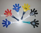 hand clapper,hand clicker,noise maker,plastic clicker