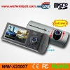 Dual Cameras car with GPS DVR Car black box (WW-X3000)