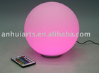 remote control color changing LED ball