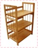 Hot selling and functional 4 layers bamboo storage rack/shelf