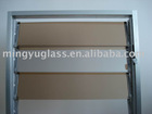 3-10mm bronze rtinted louver window glass