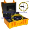 Underwater drill camera inspection with meter counter