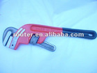 Angle stype pipe wrench