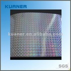 Self adhesive film rainbow film iridescent film
