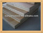 curved plywood press / keruing container plywood flooring