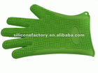 2012 hot sell 5 fingers heat resistant cooking gloves