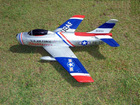 "Freewing F-86 ""Sabre"" 64mm RC EDF Jet - Skyblazers paint (ARF)"