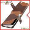 PU Leather Case for iPhone with OEM/ODM Service