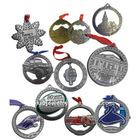 Metal alloy Christmas ornament charm pendant