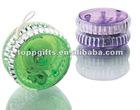 promotional plastic round shaped flashing yoyo
