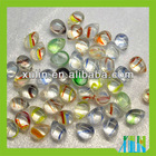 transparent waterdrop clear color stripe acrylic beads