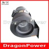 Air blower with double outlets for heaters