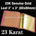 23KT Genuine Gold LEAVES
