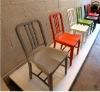 colourful navy Aluminum chair/dining Chair/modern restaurant chair/coffee chair
