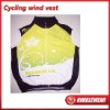 2012 Nimblewear sportwear Latest Summer series full sublimation cycling wind vest