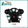 XINYA F-type 8bar 10hp double cylinder ac piston belt driven truck air compressor head bare pump(2100F)