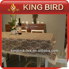 2013 Newest striking and pretty coffee table cloth