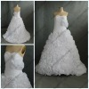 WR-025 Strapless Sweetheart Organza Gowns For Wedding