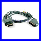 SCART & Normal RCA AV Box Multi-format Cable for XBOX 360 Connection to TV
