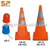 Retractable safety road cone with LED light AB-70,AB-55
