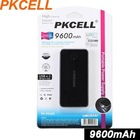 High Capactity Power Bank/Mobile Battery Charger 9600mAh,Two USB,6 Connectors, for iPhone ,iPad, LG, SAMSUNG, NOKIA,HTC