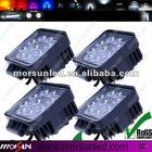 12V&24V DC 27W High power LED work light, tractor lamp, LED offroad light for truck, heavy-duty off road light