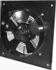 AC Axial Fan with external rotor and mounting frame