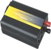 Car power inverter with charger