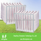 synthetic fiber pocket air filter F5-F9