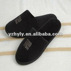 China good quality hotel velour plush slipper