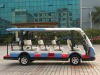 14 passenger sightseeing coaches, sightseeing bus, electric shuttle bus,electric airport shuttle bus coach LQY145B-Luxry