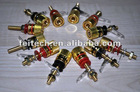 Plastic screw/pressure Golden Speaker Part Bornes Terminal