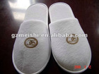 100%cotton terry towel slippers
