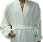winnter thicker checked cotton velour .terry towelling robes