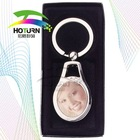 digital blank photo metal keychain for sublimation