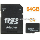 High Speed Class 4 Micro SD(TF) Memory Card 64GB